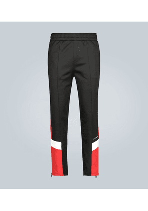 Contrasting trackpants