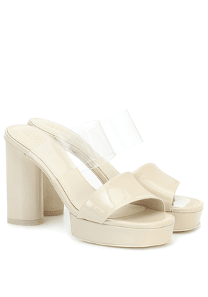 Adela leather platform sandals