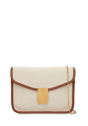 Luisa Simmetria Canvas Shoulder Bag