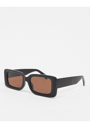 ASOS WHITE sunglasses in black