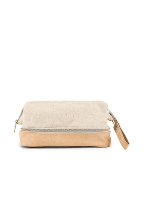 BEIS The Dopp Kit in Beige.