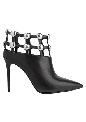 Alexander Wang Tina Studded Leather Ankle Boots Woman Black Size 35