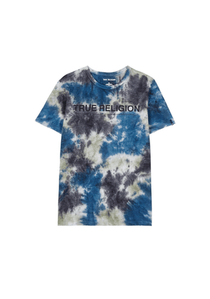 True Religion Tie-dyed Cotton T-shirt