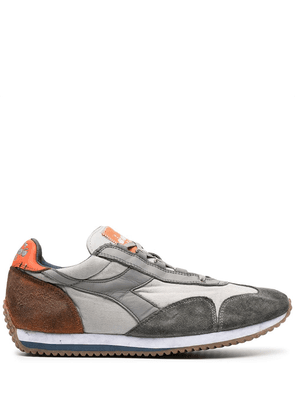 Diadora panelled lace-up sneakers - Grey