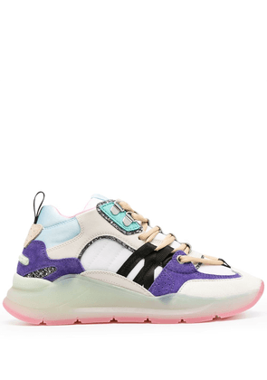 Chiara Ferragni low-top running sneakers - White