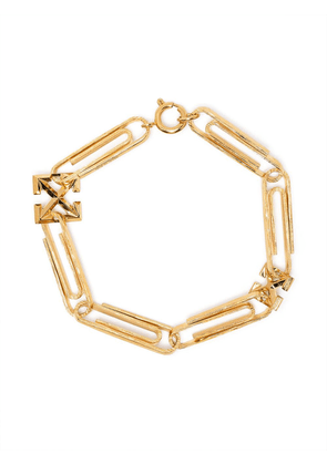 Off-White Paperclip bracelet - Gold