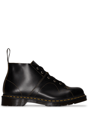 Dr. Martens leather lace-up booties - Black