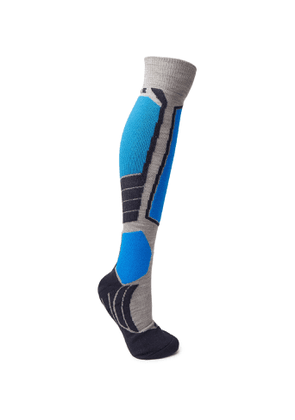 FALKE Ergonomic Sport System - SK2 Stretch-Knit Ski Socks - Men - Gray
