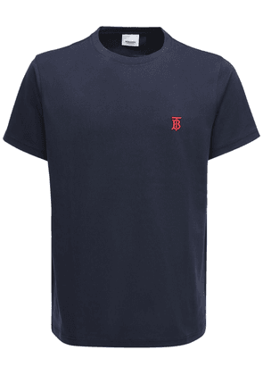 Embroidery Cotton Jersey T-shirt