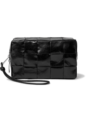 BOTTEGA VENETA - Intrecciato Leather Wash Bag - Men - Black