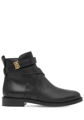 20mm Pryle Leather Ankle Boots