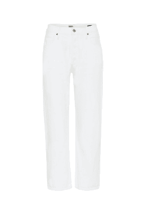Emery high-rise straight jeans