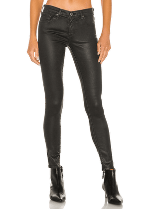 AG Adriano Goldschmied Legging Ankle in Black. Size 25, 26, 27, 29, 30.
