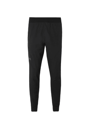 Under Armour - Unstoppable Tapered Stretch-Shell Sweatpants - Men - Black