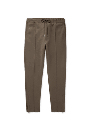 TOM FORD - Tech-Jersey Track Pants - Men - Green