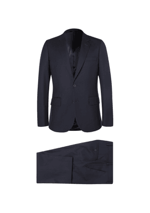 PAUL SMITH - Grey A Suit To Travel In Soho Slim-Fit Wool Suit - Men - Blue