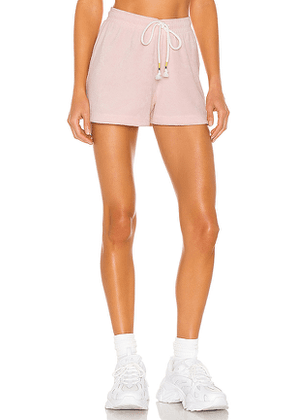 THE UPSIDE Florencia Shorts in Pink. Size M, S, XS.