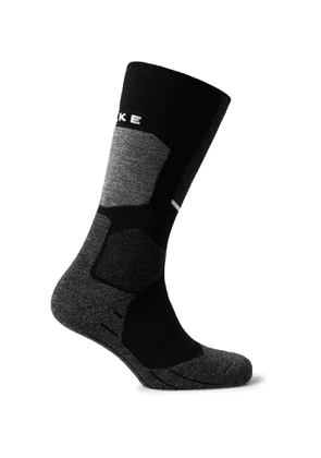 FALKE Ergonomic Sport System - SK2 Stretch-Knit Ski Socks - Men - Black