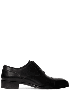 27mm Elkan Smooth Leather Lace-up Shoes