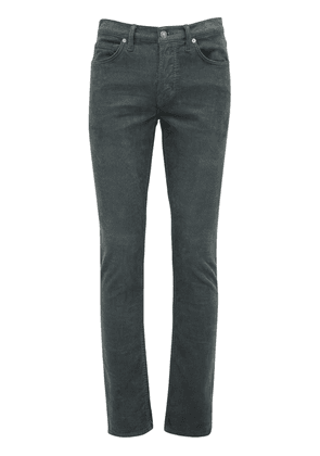 Corduroy Slim Fit Denim Jeans