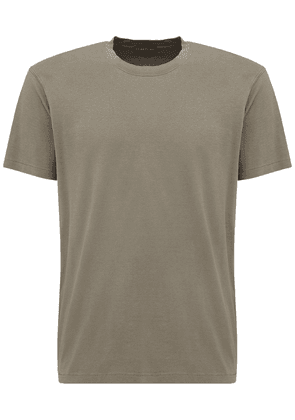 Tf Embroidery Lyocell & Cotton T-shirt