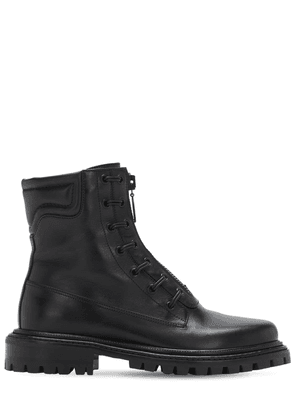30mm Kicks Leather Ankle Boots