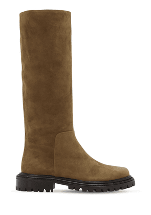 30mm Sky Suede Tall Boots