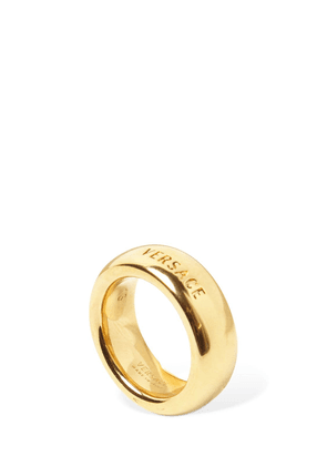 Versace Logo Thick Ring