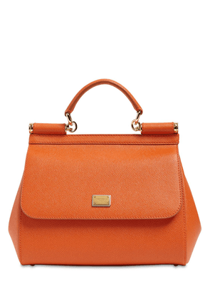 Medium Sicily Dauphine Leather Bag