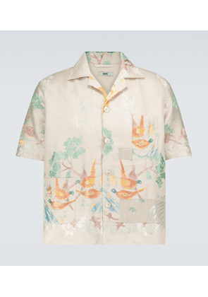 One of a Kind Louie damask shirt
