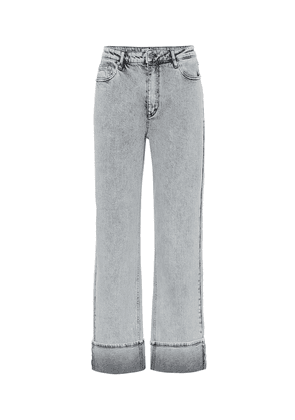 Nanne mid-rise straight jeans