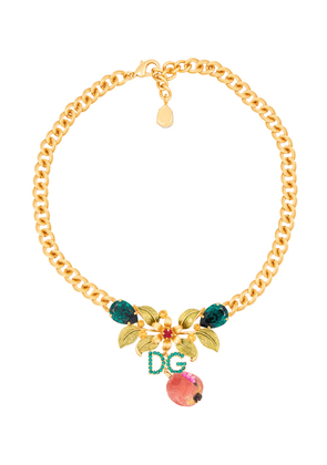 Exclusive to Mytheresa – Crystal-embellished necklace