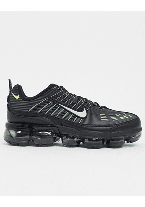 Nike Air Vapormax 360 in black and silver