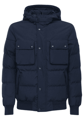 Ridge 2.0 Hooded Tech Cotton Down Jacket