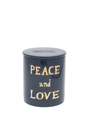 Bella Freud - Peace And Love Scented Candle - Womens - Navy