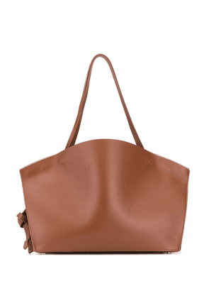 Aesther Ekme The Beach Cabas knot detail tote bag - Brown