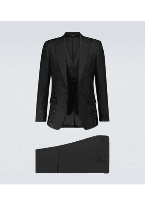Exclusive to Mytheresa – jacquard single-breasted suit
