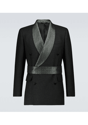Exclusive to Mytheresa – jacquard belted blazer