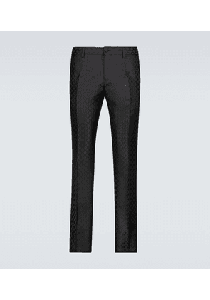 Exclusive to Mytheresa – formal jacquard pants