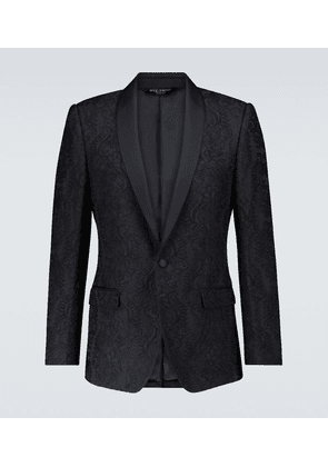Exclusive to Mytheresa – single-breasted jacquard blazer