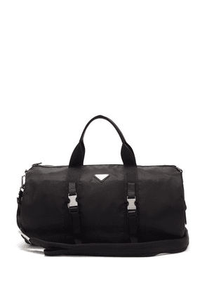 Prada - Triangle Logo-plaque Nylon Holdall - Mens - Black