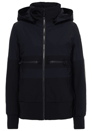 Fusalp Quilted Two-tone Hooded Ski Jacket Woman Black Size 44