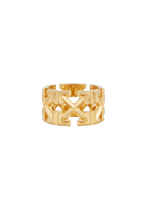 Off-White Arrows Gold-tone Ring