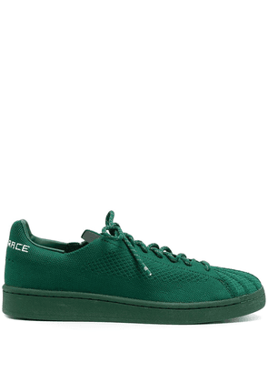 adidas by Pharrell Williams Superstar Primeknit lace-up sneakers - Green