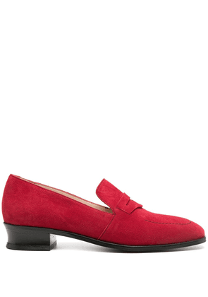 Alexa Chung low-heel loafers - Red