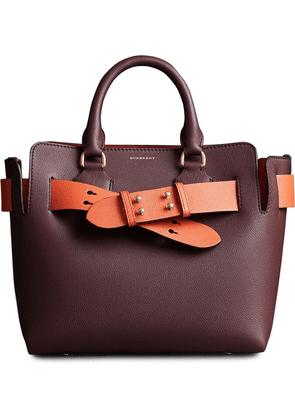 Burberry The Small Leather Belt Bag - Red