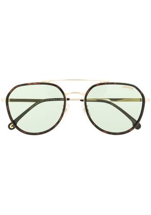 Carrera tinted aviator sunglasses - Brown
