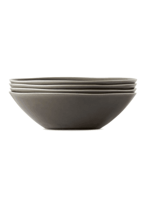 KINTO Grey Atelier Tete Edition Deep Plate Set, 7.25 in