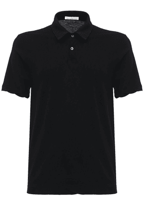 Dry Touch Cotton Jersey Polo