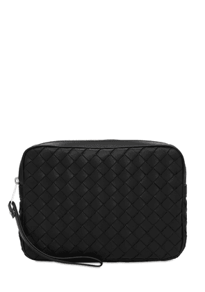 Intreccio Hydrology Leather Toiletry Bag